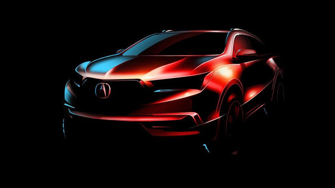 Acura MDX Teaser New York 2016