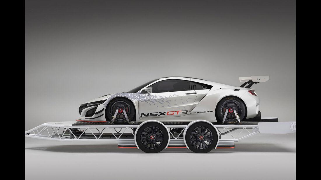 Acura MDX und Acura NSX GT3 Sema 2016