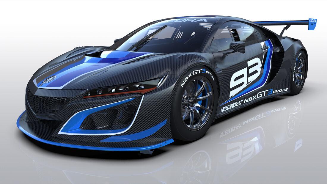Acura NSX GT3 Evo22