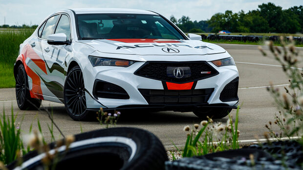 Acura TLX 2021 Pikes Peak Hillclimb Type S Prototype