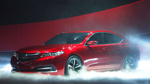 Acura TLX Concept Detroit 2014