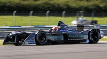 Adam Carroll - Jaguar - Formel E Test - Donington - 2016