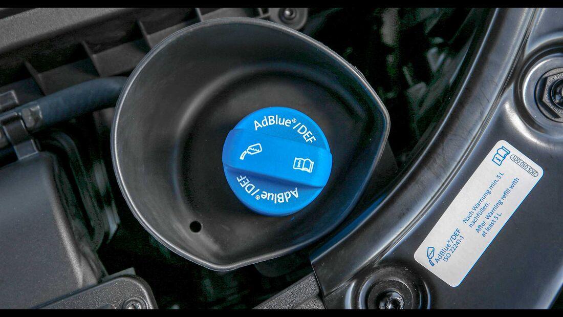 Adblue-Einfüllstutzen VW Caddy Alltrack
