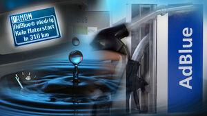 Adblue Engpass Warnung ad blue Abgasreinigung Diesel