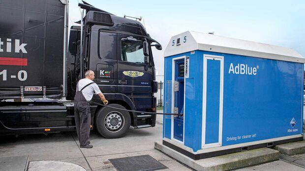 Adblue-Tankstelle