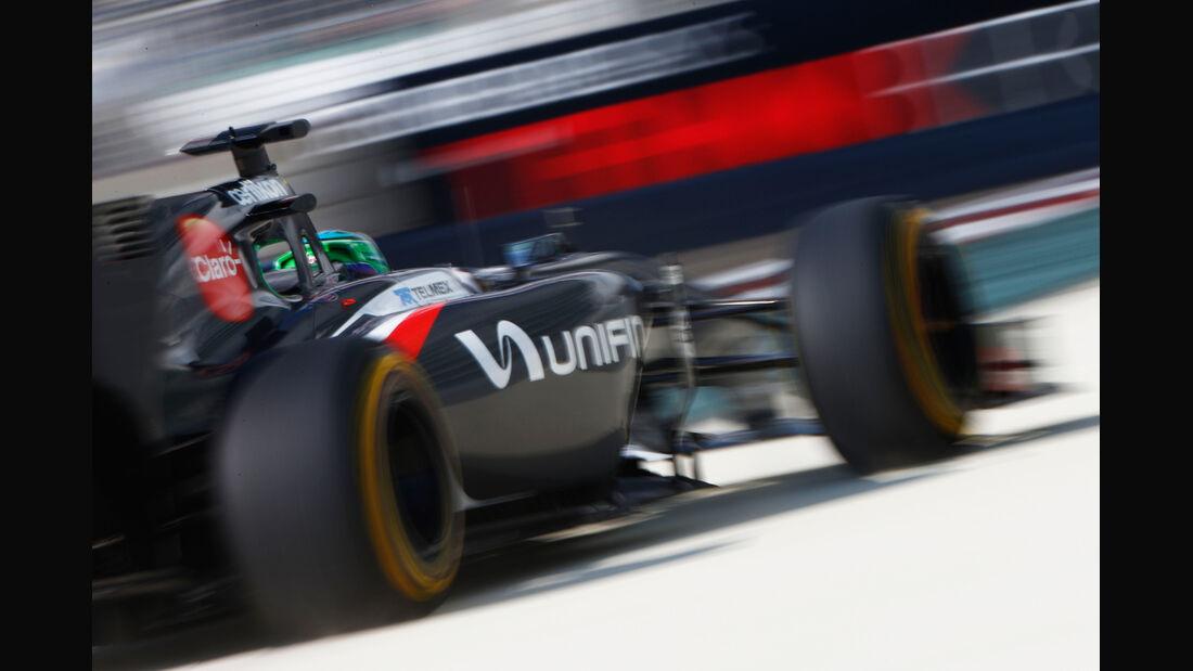 Adderly Fong - Sauber - Formel 1 - GP Abu Dhabi - 21. November 2014