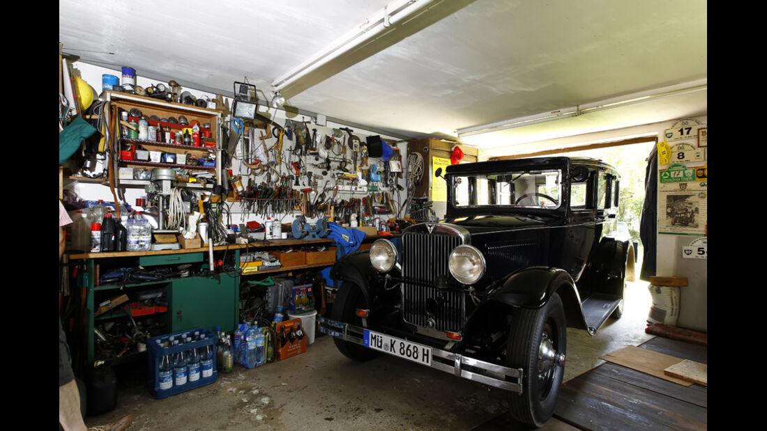 Adler Favorit, Garage