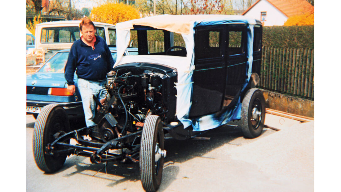 Adler Favorit, Restaurierung, Motor