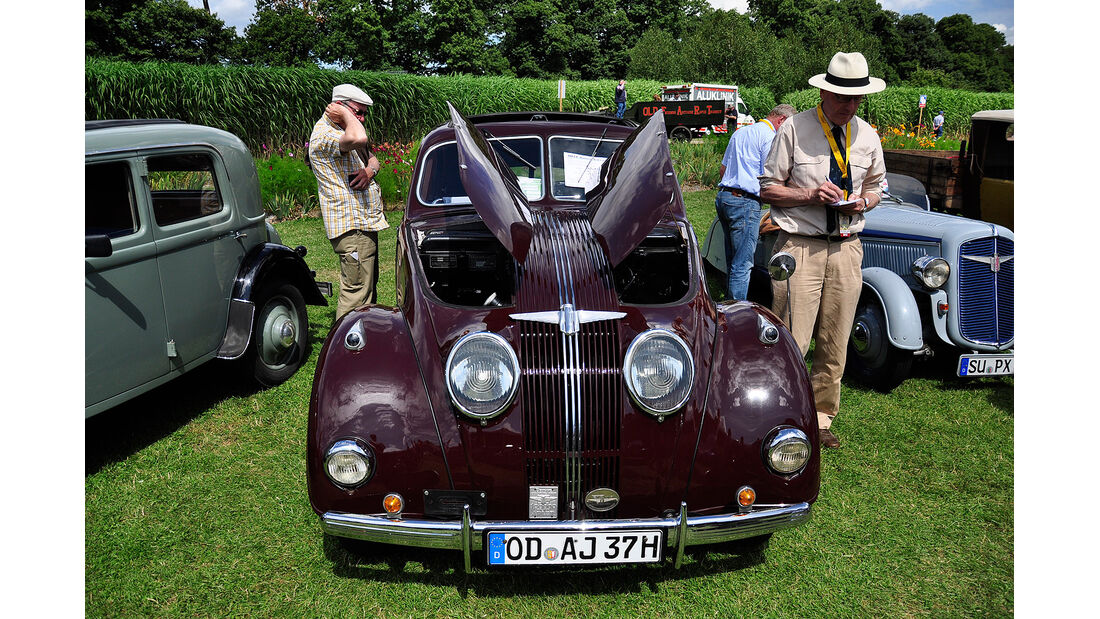 Adler-Sonderschau bei den Classic Days Schloss Dyck 2012
