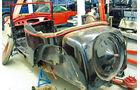 Adler Trumpf Cabrio, Chassis, Restaurierung