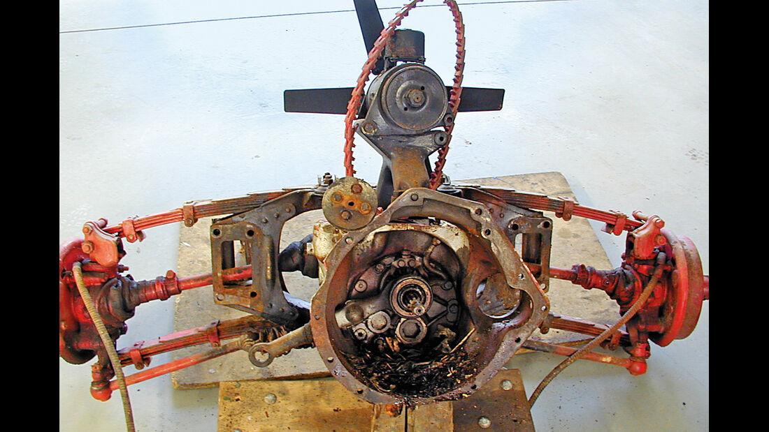 Adler Trumpf Cabrio, Motor