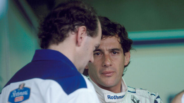Adrian Newey & Ayrton Senna - Williams - F1 - 1994