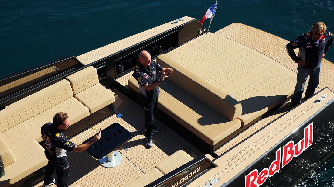 Adrian Newey Christian Horner - Formel 1 - GP Monaco - 26. Mai 2013