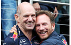 Adrian Newey & Christian Horner - Red Bull - Formel 1 - GP Belgien - Spa-Francorchamps - 23. November 2014