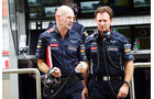 Adrian Newey & Christian Horner - Red Bull - Formel 1 - GP Indien - 25. Oktober 2013