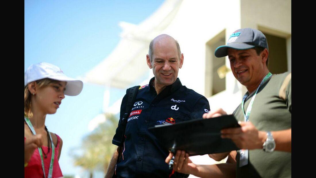 Adrian Newey - Formel 1 - GP Abu Dhabi - 01. November 2012
