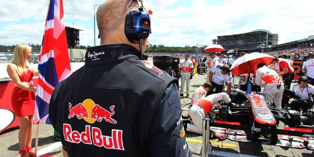 Adrian Newey - Formel 1 - GP Deutschland - 22. Juli 2012
