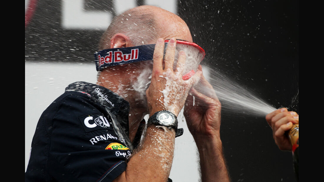 Adrian Newey GP Korea 2012