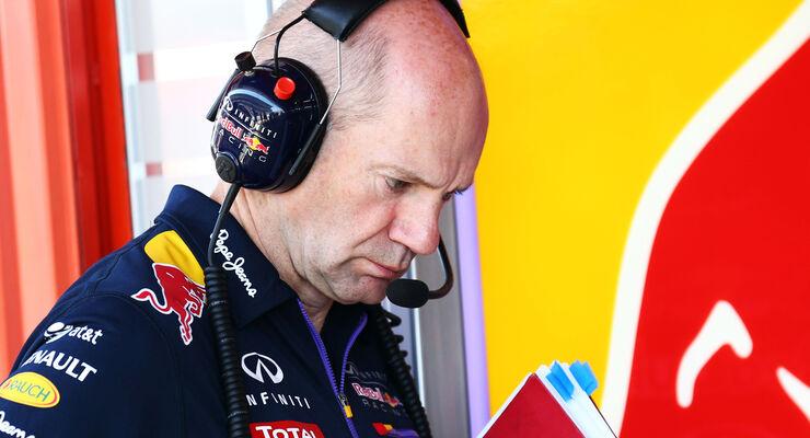 Adrian Newey - Red Bull - 2014