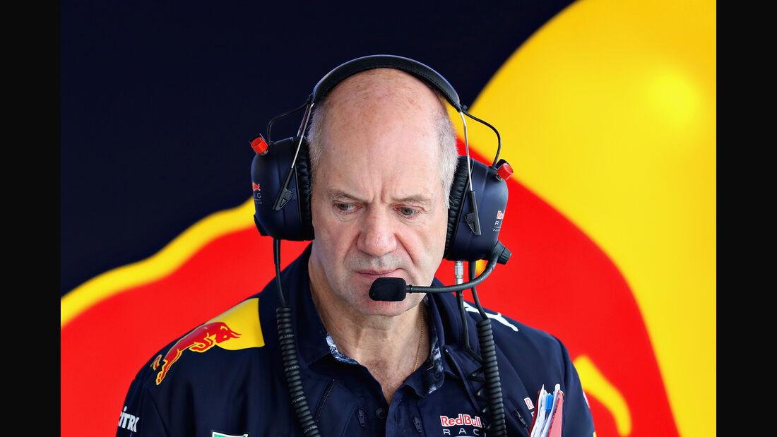 Adrian Newey - Red Bull - F1 2017