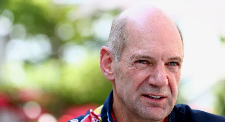 Adrian Newey - Red Bull - Formel 1 2013