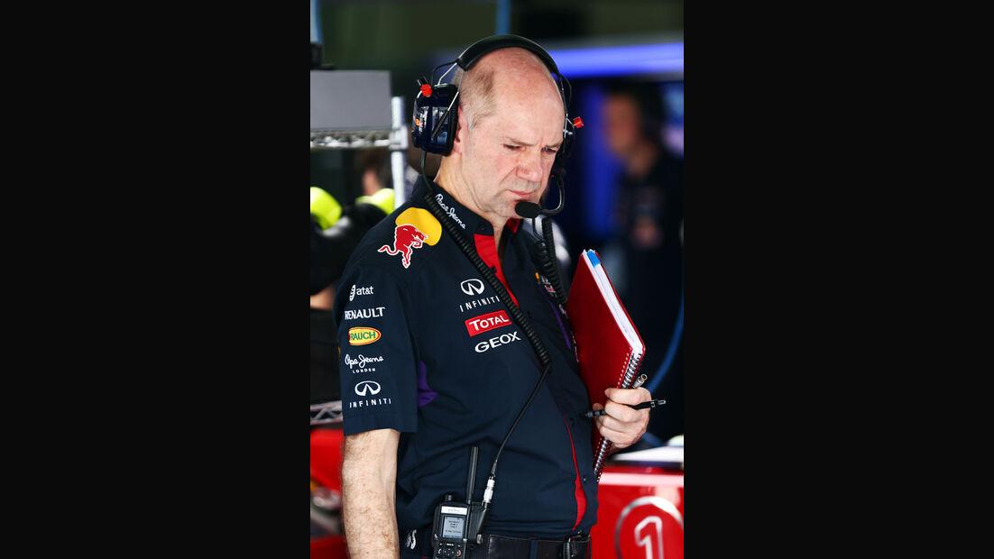 Adrian Newey - Red Bull - Formel 1 - GP Malaysia - Sepang - 28. März 2014