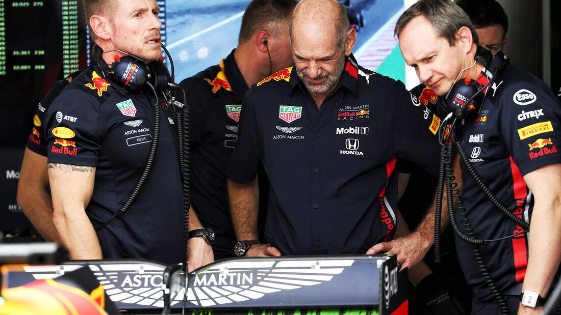 Adrian Newey - Red Bull - Formel 1 - GP Spanien - Barcelona - 10. Mai 2019