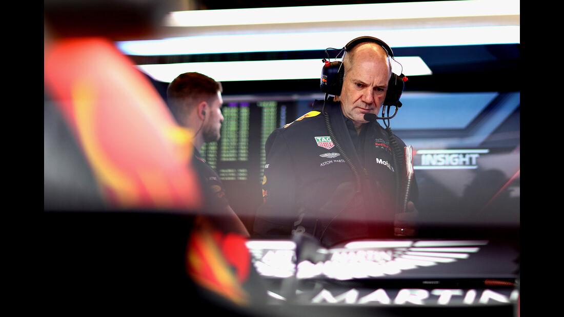 Adrian Newey - Red Bull - Formel 1 - GP USA - 19. Oktober 2018