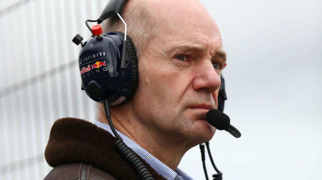 Adrian Newey - Red Bull - Formel 1-Test - Jerez - 3. Februar 2015