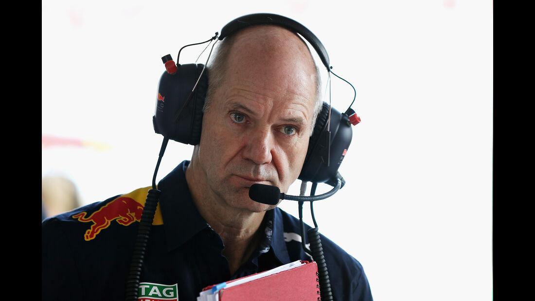 Adrian Newey - Red Bull - GP Australien - Melbourne - 24. März 2017