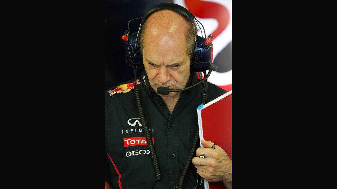 Adrian Newey - Red Bull - GP Europa - Formel 1 - Valencia - 22. Juni 2012