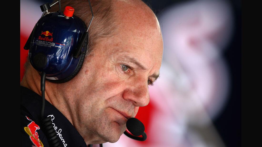 Adrian Newey - Red Bull - GP Malaysia - Training - 23. März 2012