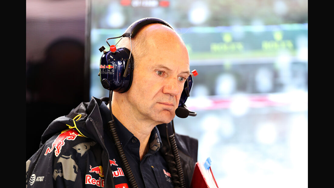 Adrian Newey - Red Bull - GP Ungarn 2016