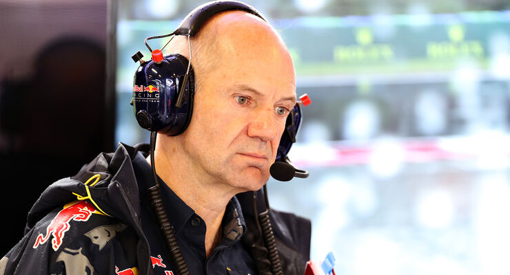 Adrian Newey - Red Bull - GP Ungarn 2016