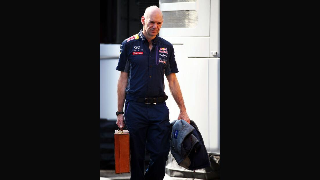 Adrian Newey - Red Bull - GP Ungarn - Budapest - Freitag - 24.7.2015