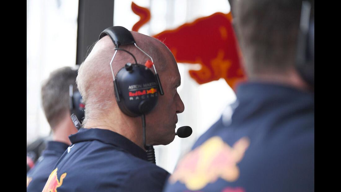 Adrian Newey - Red Bull - Qualifying - GP Australien 2018 - Melbourne