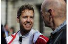 Adrian Newey & Sebastian Vettel - F1 Live Show - London - 2017