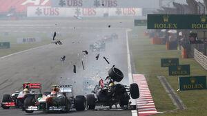 Adrian Sutil - Esteban Gutierrez - Formel 1 - GP China - 14. April 2013