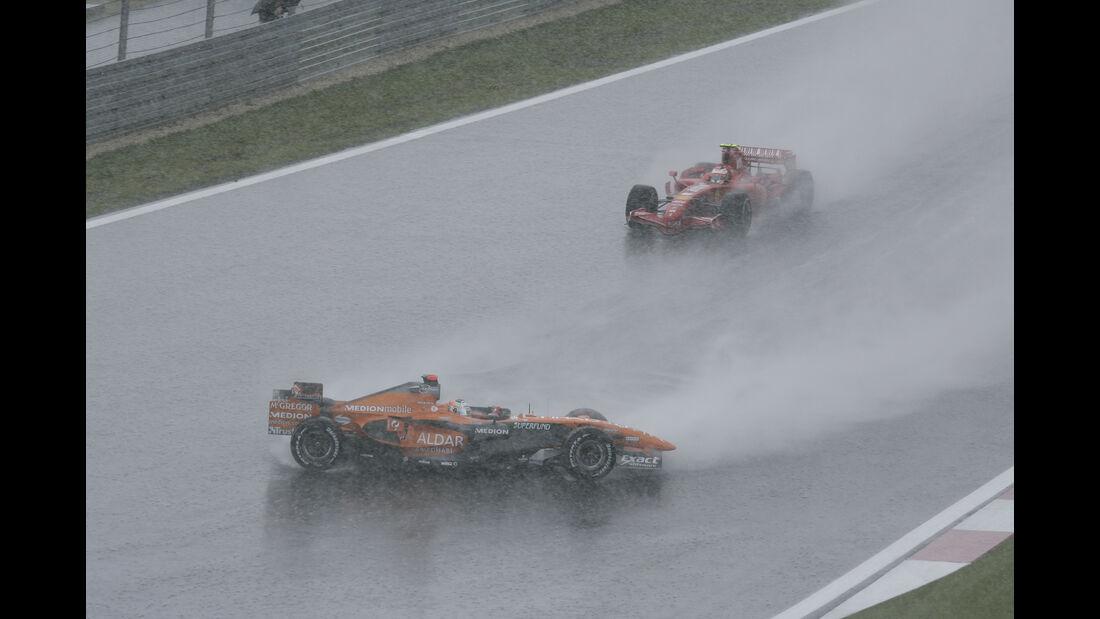 Adrian Sutil - F1 - Nürburgring - 2007