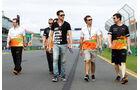 Adrian Sutil - Force India - Formel 1 - GP Australien - 13. März 2013