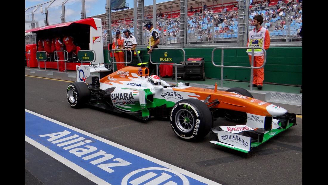 Adrian Sutil - Force India - Formel 1 - GP Australien - 15. März 2013