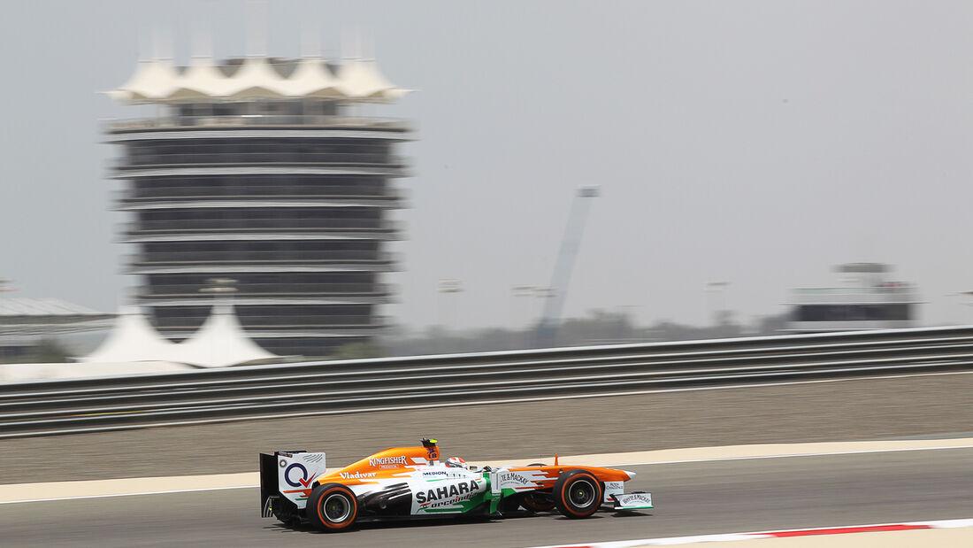 Adrian Sutil - Force India - Formel 1 - GP Bahrain - 19. April 2013