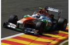 Adrian Sutil - Force India - Formel 1 - GP Belgien - Spa-Francorchamps - 23. August 2013