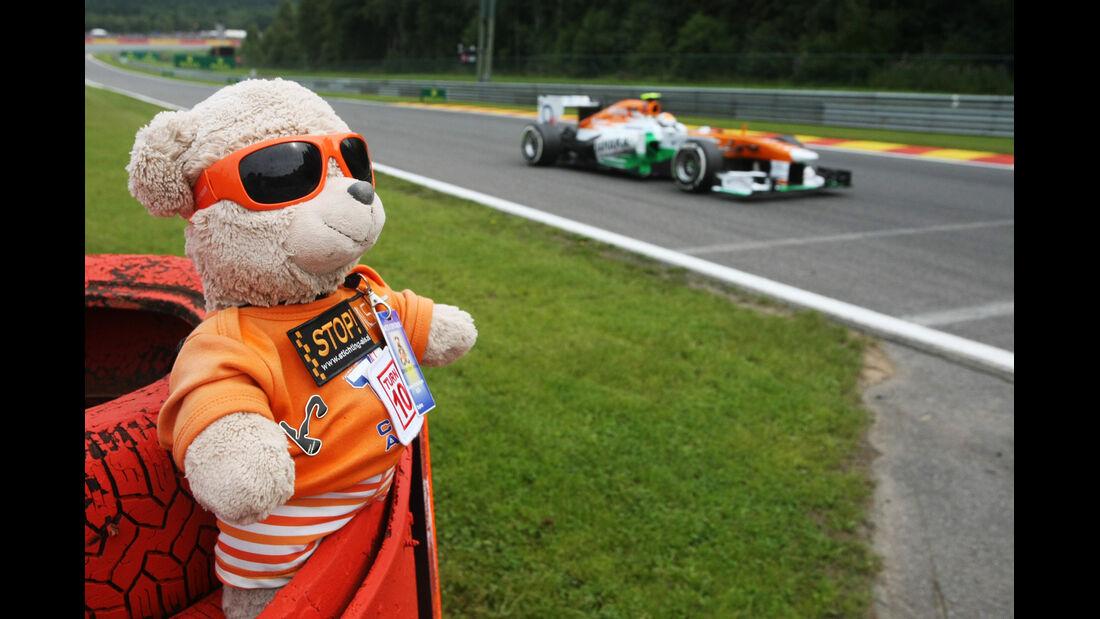 Adrian Sutil - Force India - Formel 1 - GP Belgien - Spa-Francorchamps - 24. August