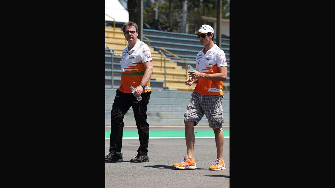 Adrian Sutil - Force India - Formel 1 - GP Brasilien - 21. November 2013