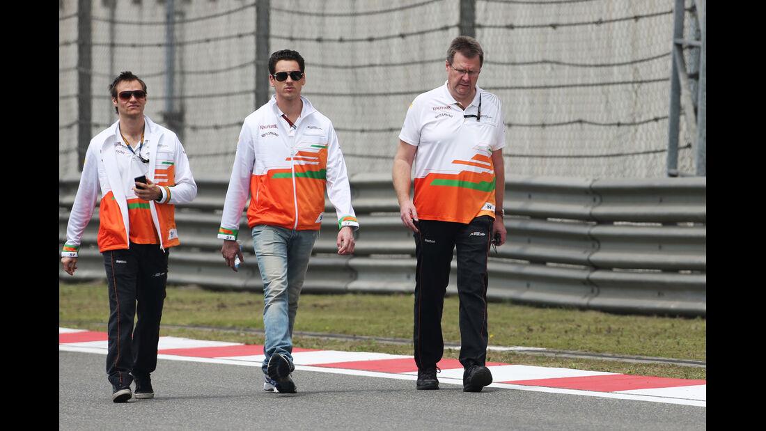 Adrian Sutil - Force India - Formel 1 - GP China - 11. April 2013