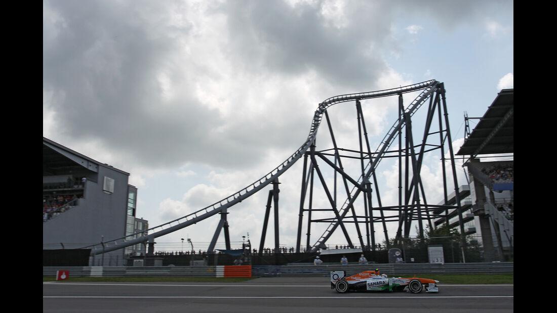 Adrian Sutil - Force India - Formel 1 - GP Deutschland - 6. Juli 2013
