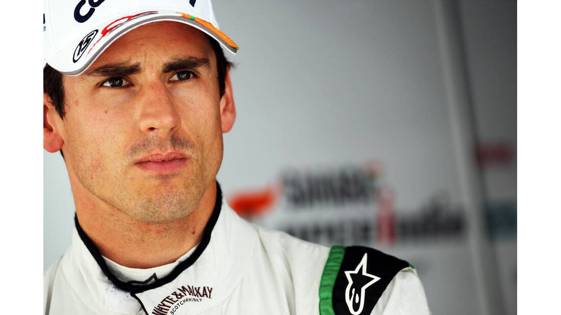 Adrian Sutil - Force India - Formel 1 - GP Indien - 26. Oktober 2013