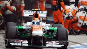 Adrian Sutil - Force India - Formel 1 - GP Indien - 27. Oktober 2013
