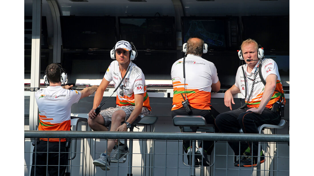 Adrian Sutil - Force India - Formel 1 - GP Italien - Monza - 6. September 2013